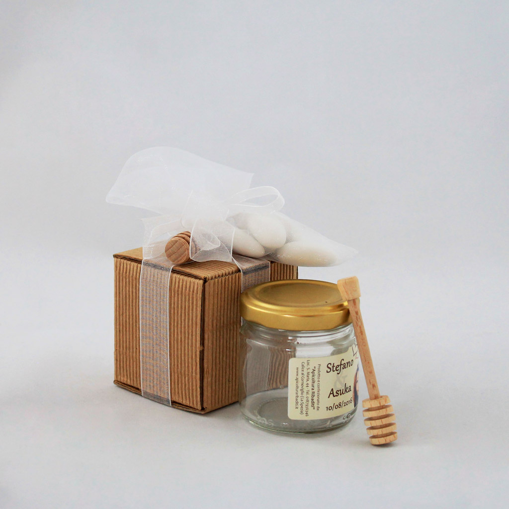 Wedding favors and wooden place cards - Torneria legno Todeschini