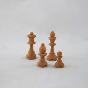 Pedine in legno per scacchi - Torneria Legno Todeschini (Bergamo)