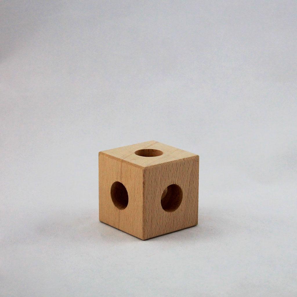 Cubo in legno