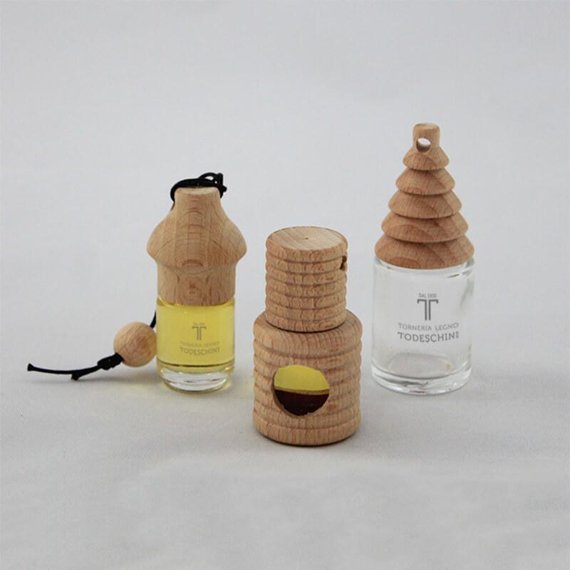 Tappi in legno per profumatori auto