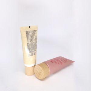 Tappo legno cosmetici crema